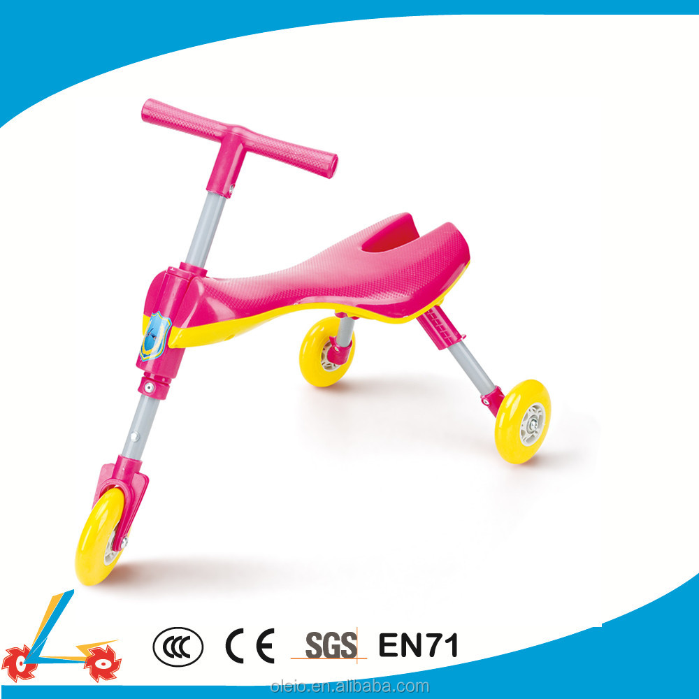 Kids Trike Bug Scooter With 3 Wheels and Front Wheel Steering