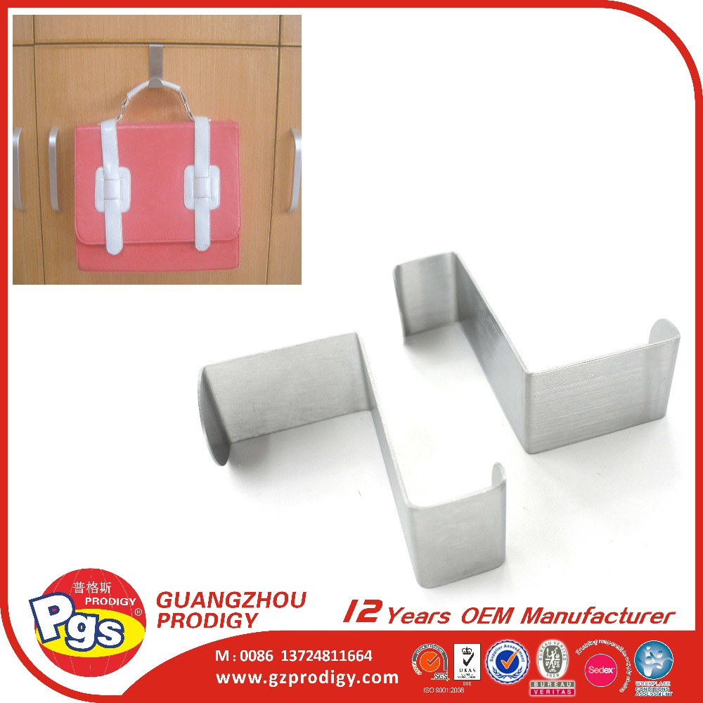 unique design metal hook stainless steel retractable hook