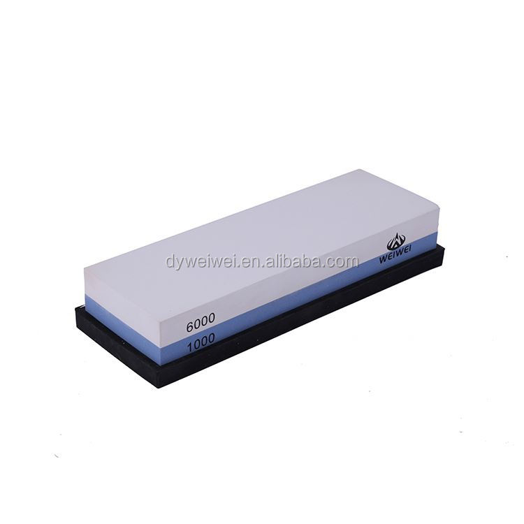 Special double side bamboo base sharpening stone,oil stone,wetstone