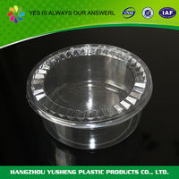 Hot sale best quality food containers plastic flat
