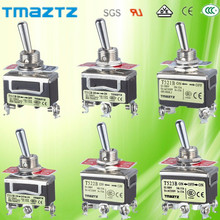 Waterproof 10A 250V 15A 125V Installation 12.5MM (ON)-ON momentary 12v toggle switch