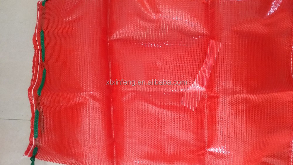 raschel mesh bags for packing potato carrot garlic