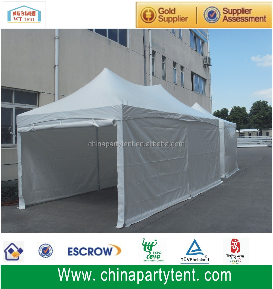 Hexagonal aluminum folding gazebo tent ,folding marquee tent , heavy duty folding tent