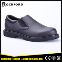 Made in China goodyear rubber outsole office work shoes FD3308