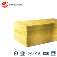 Soundproofing High Temperature Water resistant Heater Insulation Glass Wool board