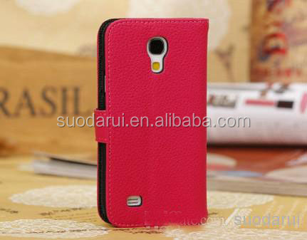 Lichee Leather Pouch For Samsung Galaxy S4 Mini i9190 Wallet Cover Case