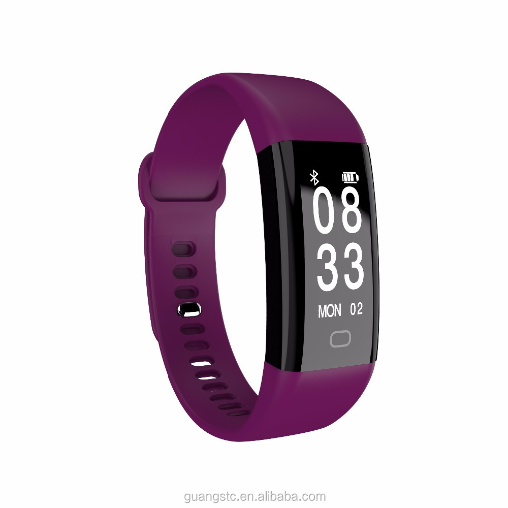 HOT! IP68 Deep waterproof smart band Accurate Blood Pressure Measurement Wristband F09 with Favorable Price