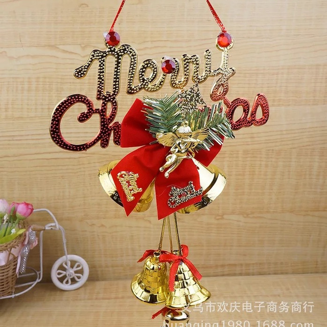 hanging small outdoor christmas bell for sell