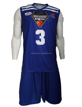 Custom breathable moisture wicking sublimation Team set basketball Jersey uniforms design