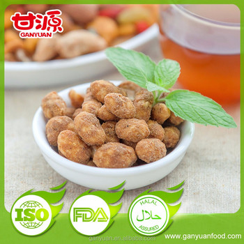 party snacks korean pickled flavor peanuts