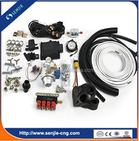 auto gas kit/cng conversion kit/gas equipment on car
