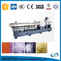 STS TPU TPR granules making machine twin screw extruder for pp pe pvc supplier