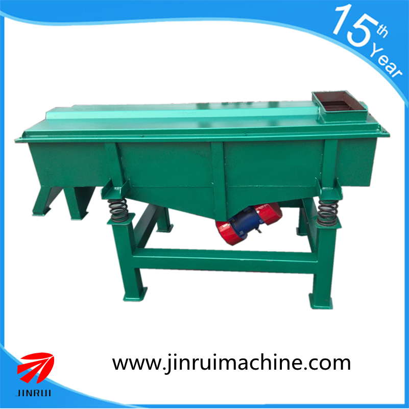 Long Service Life Linear Sand Ore Iron Powder Vibrating Screen