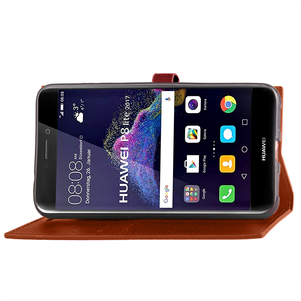 For Huawei P8 lite Case Leather , New Style Wallet Case For Huawei P8 lite