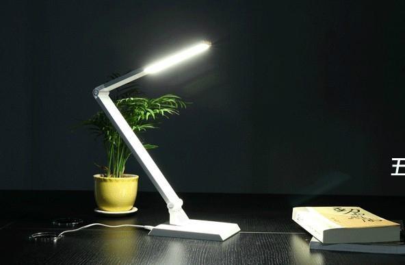 스마트 주도 책상 조명 USB 및 디밍 8w 스마트 주도 테이블 램프 ...