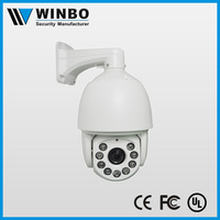 High speed dome 9PCS high-power infrared light 1080P CVI PTZ Camera