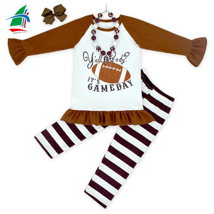 Most popular sport wear fall children clothing outfit bulk wholesale boutique baby clothes for persnickety remake
