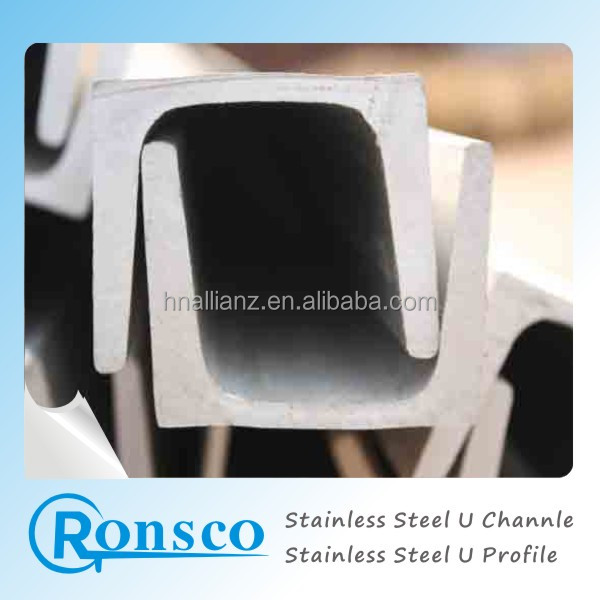 A36/SS400/Q235/JIS Standard Stainless Steel U C Channel sizes