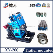 Most Cheap Skid mounted Mining Prospecting drilling rig