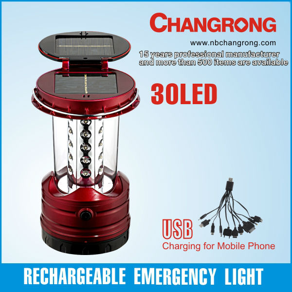 factory solar lantern rechargeable high power led