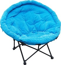 2015 hotest sale high quality out door folding moon chair/ portable outdoor camping folding moon chair