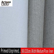 Wholesale artist linen canvas roll