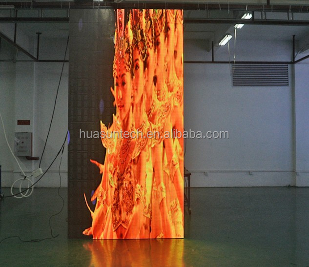 Programmable Led Curtain Display/Soft LED Screen