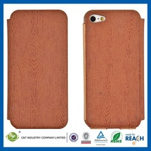 Various colors available leather phone case for iphone5 wallet with belt clip