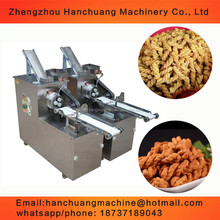 crispy snack food twist bread making machine