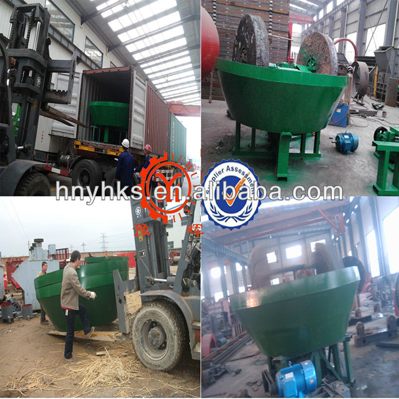 Yuhui 1200 cone wet milling machine for gold ore process plant manufacturer of China