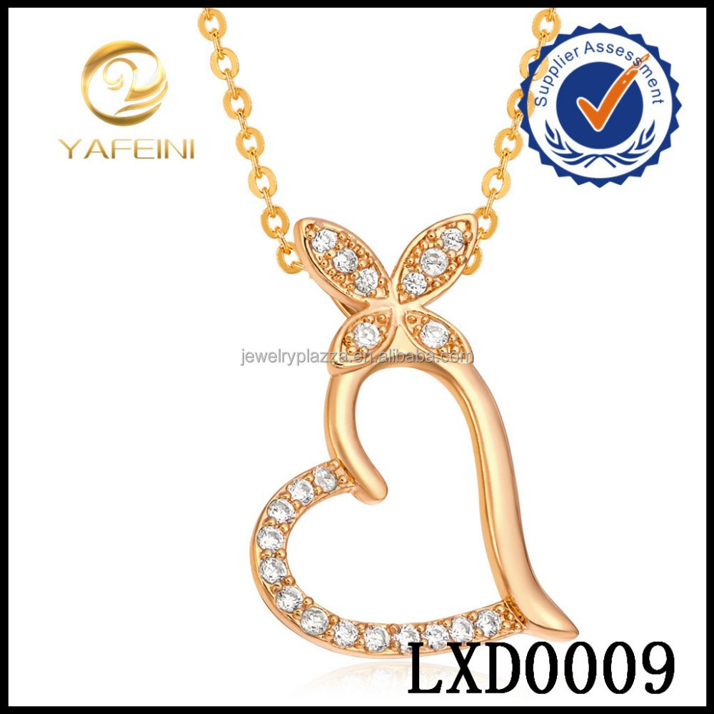 Newest Fashion Jewelry Design 18k gold jewelry wholesale pendant