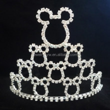 hair accessories wholesale china beauty pageant cat crown for princess