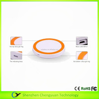 Colorful Wireless Charging portable Mini round Wireless Phone Charger pad for iPhone 5 6 Samsung S6 Note5