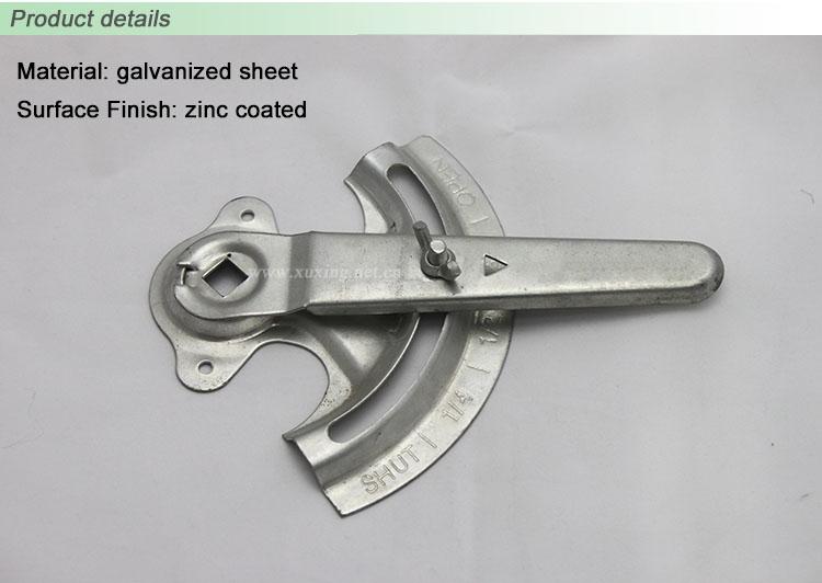 Hvac 3 8 Quot Air Duct Manual Damper Quadrant Damper Handle
