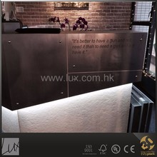 Modern irregular shape shop cash counter design