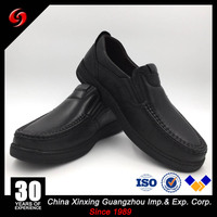 China Xinxing Military Men Rubber Outsole Comfortable Leisure Officer Grain Leather Shoes for Army