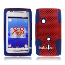 for Sony Ericsson X8 Xperia Mesh Combo case