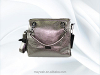 2016 Newest Fancy Grey PU Lady Elegant Bag