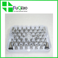 Wholesale Cake Decorating Tips ,Premium Stainless Steel Decorating Tips with Hinged Storage Box