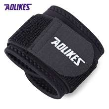AOLIKES A - 7936 Adjustable Elastic Wrist Support Reliable Weight Lifting Cuff Wrist Guard Wristguard Bandage Wrap Guard Strap