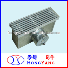 Linear Bar Grille/Diffuser With Plenum Box