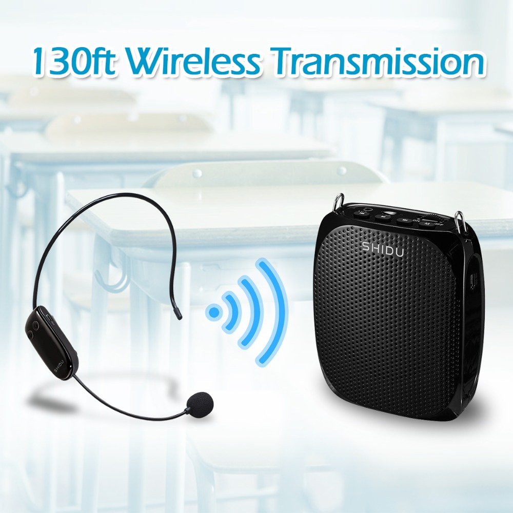 New product rechargeable portable mini UHF wireless teachers voice amplifier for speech