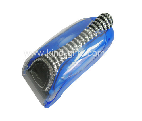 Bling rhinestone safety barbed wire razor