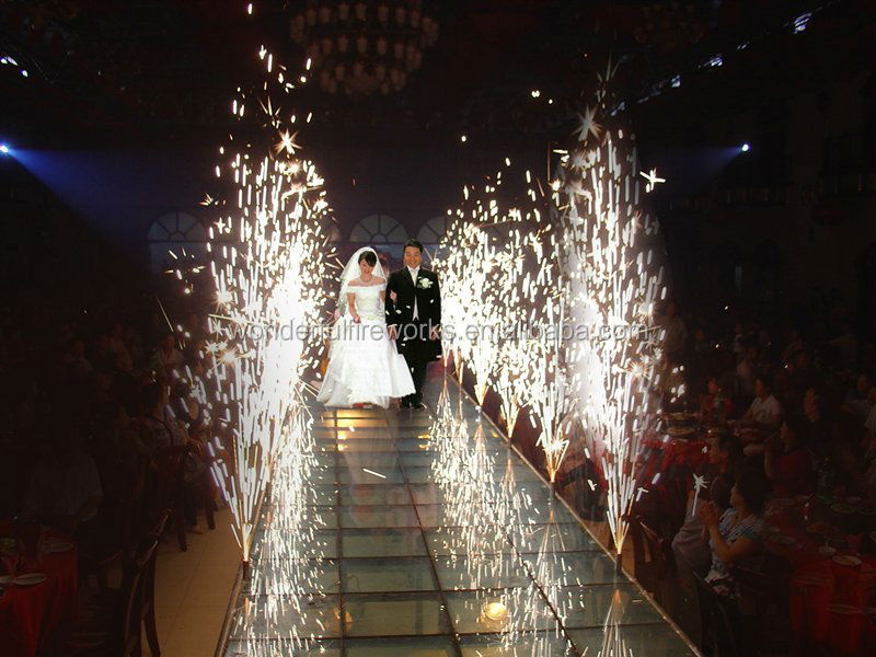 how to get fireworks at your wedding