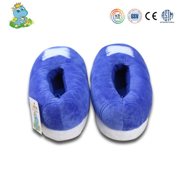 Child slipper soft cozy plush slippers Very warm indoor shoes