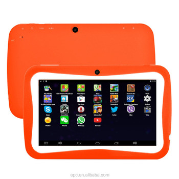 2016 Children Tablet 7 Inch Android 5.1 RK3126 Qual Core Kids Tablet