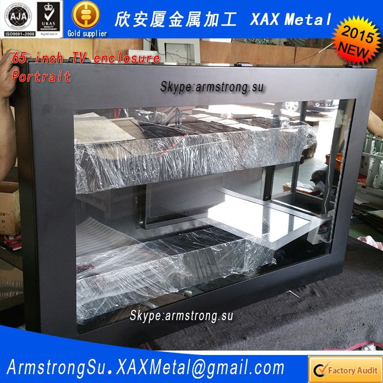 "XAX200TVE outside water proof waterproof ceiling mount 20"" 20 inch touch screen enclosure"