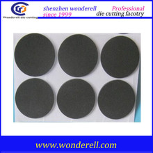 Black inflaming-resistance EPDM dense rubber foam, foam rubber die cutting products