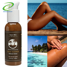 Summer New Sunless Tanning Lotion Nature Glow Sun Tan Lotion Private Label Self Tanning Lotion