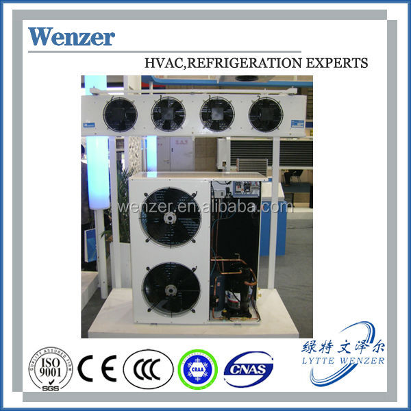 Durable JZW Series Quiet Box Type Air Cooled Condensing Units for Cold and Freezer Rooms